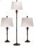 Additional Park Avenue - 3-Pack - 2 Table Lamps, 1 Floor Lamp