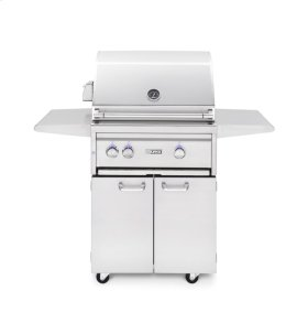 "27"" Freestanding Grill - 1 Trident w/ Rotisserie NG"