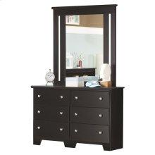 "6-Drawer Dresser 49"""