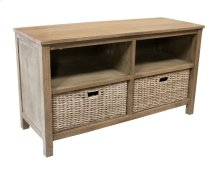 Plasma Stand, Available in Grey Wash or Royal Oak Finish.
