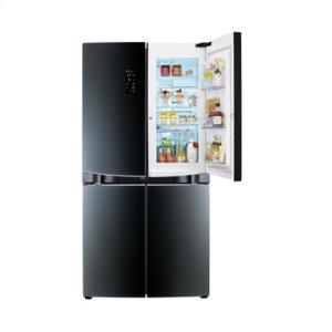 4 Door Refrigerator with Double Door-in-Door provides more ways to use your space!