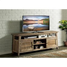 Rowan - 76-inch TV Console - Rough-hewn Gray Finish