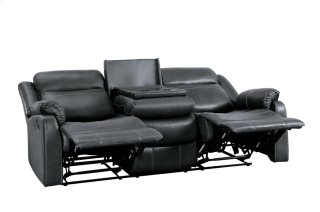 Yerba Lay Flat Reclining Sofa w/ Drop-Down Cup Holders