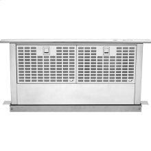 "Euro-Style Stainless 36"" Telescoping Downdraft Ventilation"