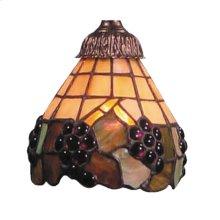 Mix-N-Match 1-Light Grape Glass Only-97238M