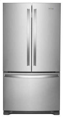 *Scratch and Dent* 36-inch Wide French Door Refrigerator with Crisper Drawer - 25 cu. ft.