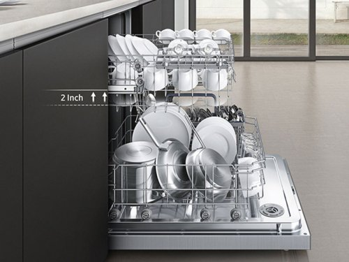 Top Control Dishwasher with Stainless Steel Door