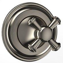 Vivian™ Two-Way Diverter Trim with Off - Cross Handle - Brushed Nickel