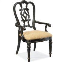 Fredericksburg Arm Chair (Ebony)
