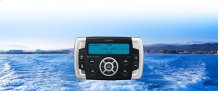 Marine Digital Media Receiver With Watertight Commander