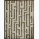 Labyrinth Rug-Grey-9 x 12 Product Image