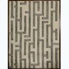 Labyrinth Rug-Grey-9 x 12 Product Image