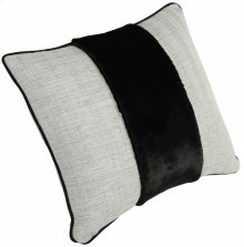 "Custom Decorative Pillows Center Band (23"" x 21"")"