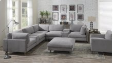 Emerald Home Macyn 8pc Sectional Gray U5700-05-8pcset-k