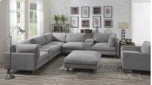 Emerald Home Macyn 8pc Sectional Gray U5700-05-8pcset-k