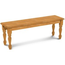 60'' Farmhouse Bench