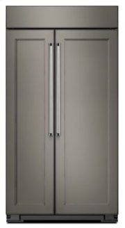 25.5 cu. ft 42-Inch Width Built-In Side by Side Refrigerator - Panel Ready Product Image