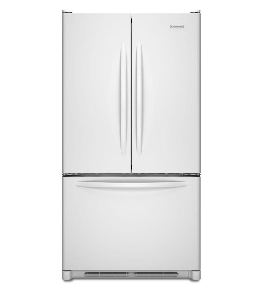 Kitchenaid(r) 20 Cu. Ft. Counter Depth French Door Refrigerator,  Architect(r) Series Ii   White