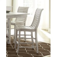 Counter Chair (2 per carton) - Distressed White Finish
