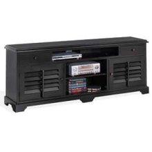 """Black 78"""" TV Console"""