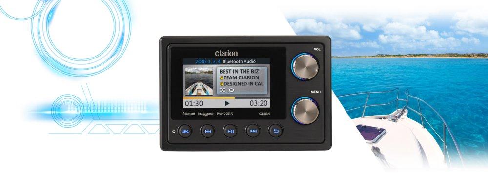 "Marine ""black Box"" Digital Media Receiver With Watertight Commander"