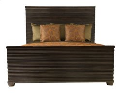 Queen-Sized Miramont Panel Bed in Miramont Dark Sable (360)