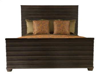 Queen-Sized Miramont Panel Bed in Miramont Dark Sable (360) Product Image