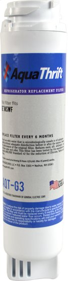 Refrigerator Replacement Filter fits in place of GE MSWF comparable models Product Image