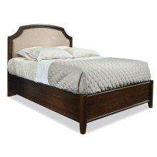 Queen Upholstered Panel Bed