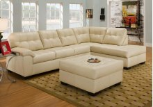 Soho Natural Bonded Right Facing with Chaise