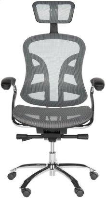 Jarlan Desk Chair - Grey