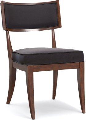 Upholstered Klismos Chair