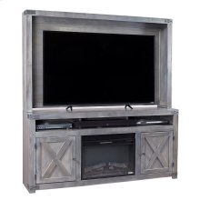 """72"""" Fireplace Console"""
