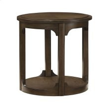 Round End Table - Kd