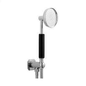 Waldorf Handshower Set with Outlet & Bracket - Polished Nickel