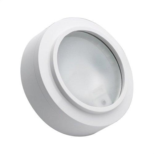 XENON PUCK LIGHT WHITE FRST LENS W / LAMP