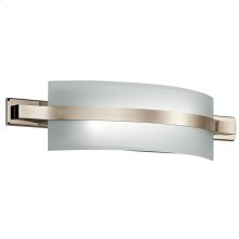 """Freeport Collection Freeport 22"""" LED Linear Bath Light in PN"""
