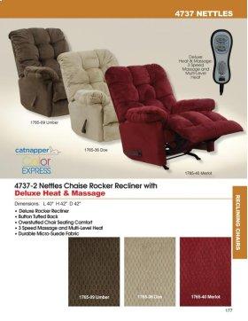 Chaise Rocker Recl w/Deluxe Heat/Massage