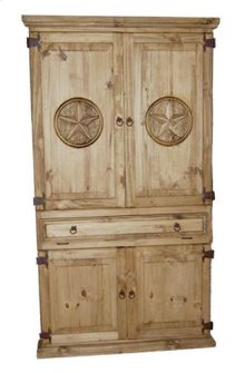 Computer Armoire W/stars