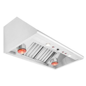 "CapitalPerformance 48"" Vent Hood w/ Heat Lamps"
