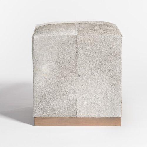 Felix Small Leather Ottoman
