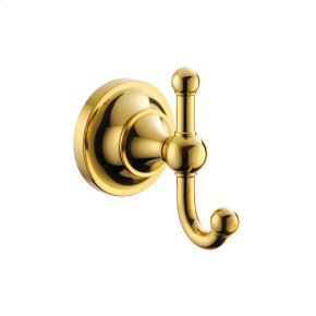 Polished Brass Standard Robe Hook