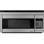 """Dacor30"""" Over-The-Range Microwave, Silver Stainless Steel"""