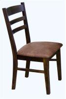 Santa Fe Ladder Back Chair W/cushion Product Image