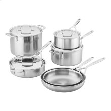 Demeyere 5-Plus Stainless Steel 10-piece Cookware Set