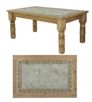 4'x4' Stone Dining Table Product Image