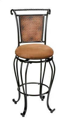 Milan Swivel Counter Stool Copper