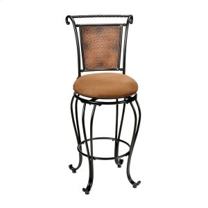 Hillsdale FurnitureMilan Swivel Counter Stool Copper