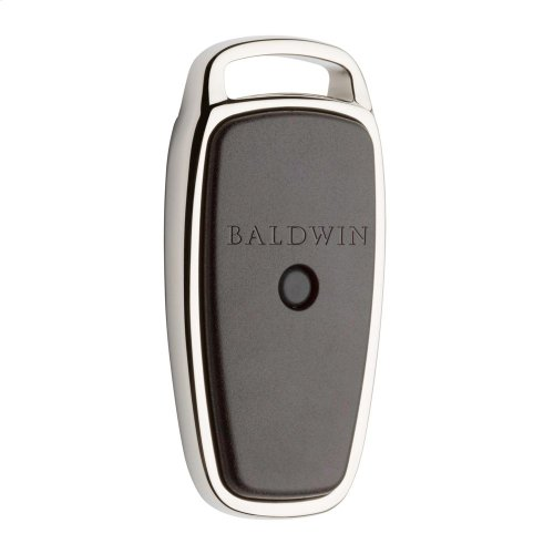 Polished Nickel with Lifetime Finish Evolved Fob