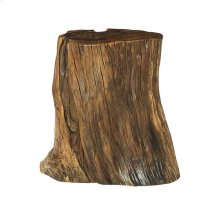Hidden Treasures Tree Trunk Accent Table